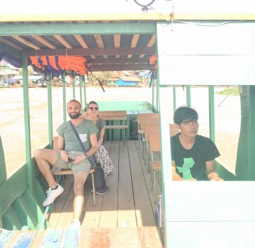 Private Boat transfer Siem Reap - Battambang